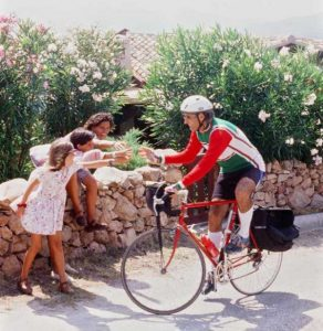 Kameel riding through Italy - circa 1991